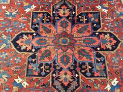 9A0274 Persian Heriz 9.1x12.2   (4)
