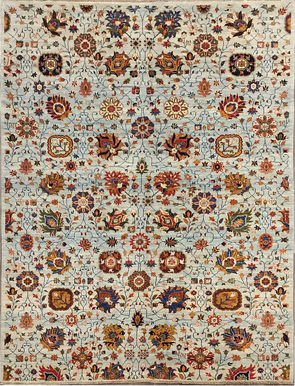 6A0184 Afghanistan Tabriz 6.3x8.11