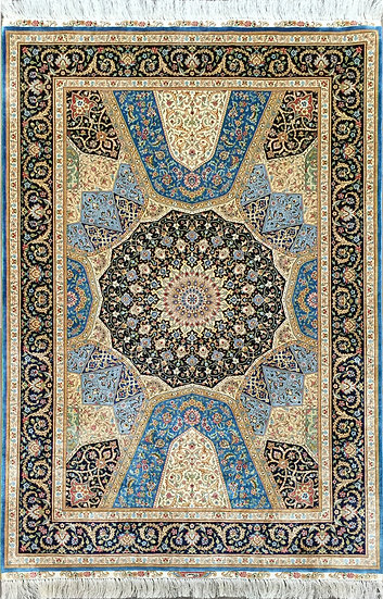 4A0210 Turkistan Silk 4x6