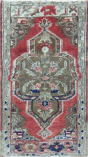 2129 Turkish Oushak 1.9x3