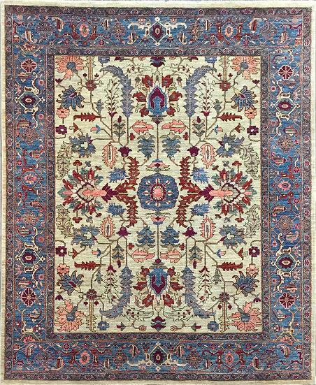8305 Afghan Serapi 8x9.9