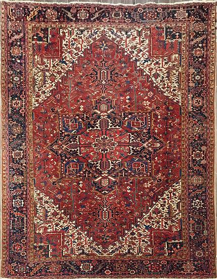 10A0158 Persian Heriz 10x12.8