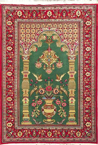 3A0211 Persian Qom 3.3x5.3