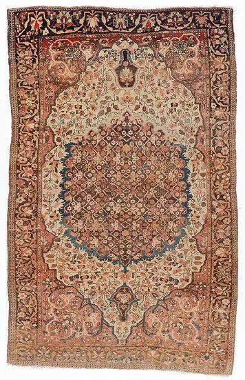 A193 Persian Ferahan Sarouk 4.2x6.6