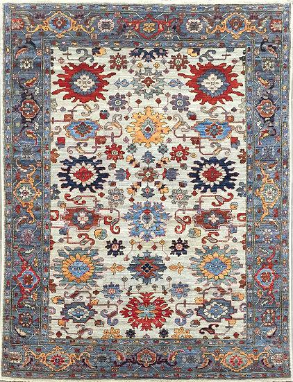 5A0229 Afghan Bakshaish 4.11x7.1