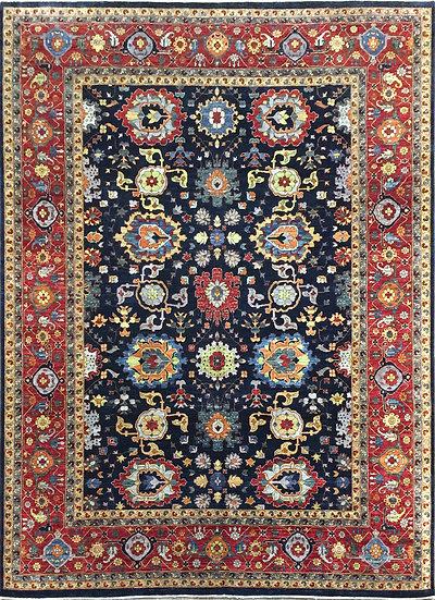 9A0421 Afghan Bijar 8.9x11.7