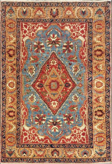 4A0111 Afghan Kazak 3.11x5.10