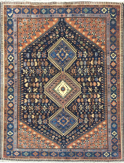 5A0197 Persian Yalameh 4.11x6.7