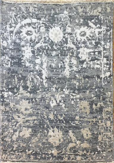2A0112 Indian Modern Wool & Viscous