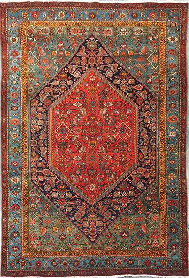 A216 Persian Bijar 4.4x6.4