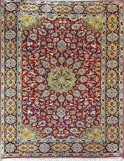 2146 Indian Kashmere %100 Silk 2.2x3.2
