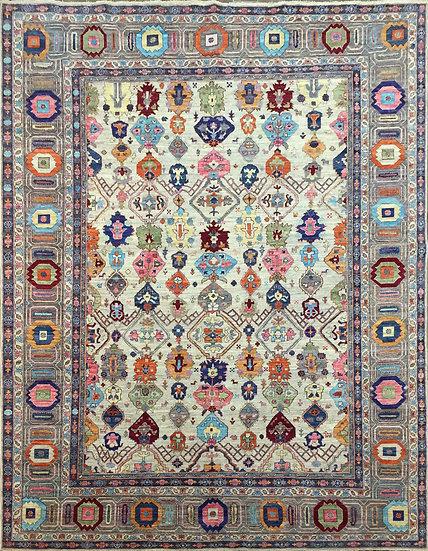 9288 Afghan Tribal 9x11.6