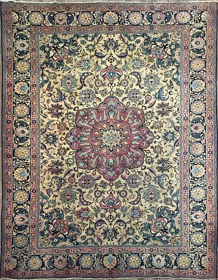 9A0384 Persian Tabriz 9.8x12