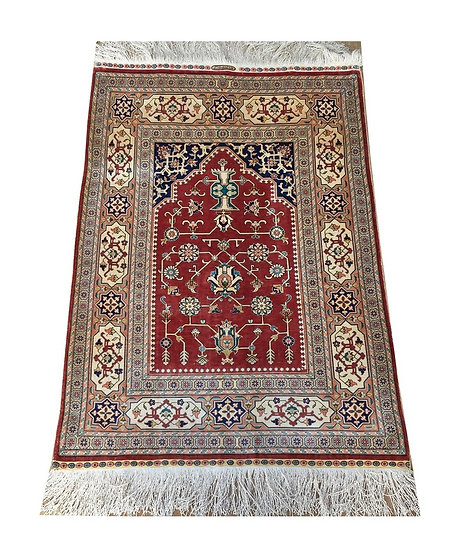 3139 Turkish Ozipek Hereke %100 Silk 2.4x3.3