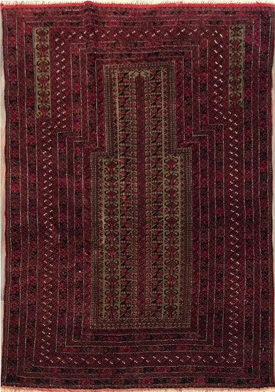 3187 Afghan Baluch 2.11x4.4