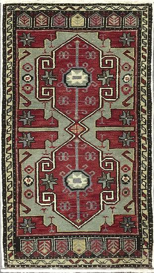 2177 Turkish Yasik 1.9x3.4