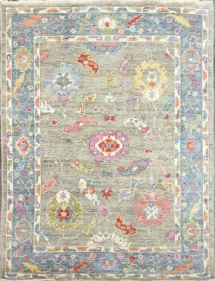 5A0203 Afghan Oushak 5.2x7
