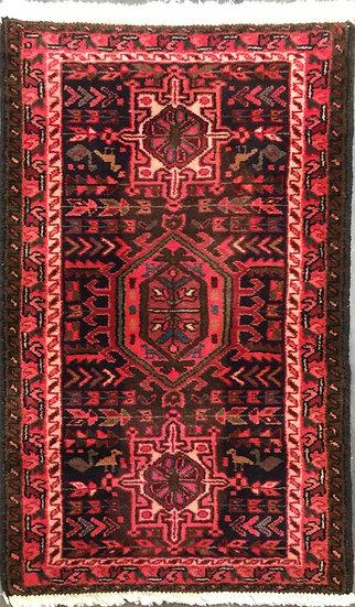 2A0299 Persian Karajeh 2.2x3.7