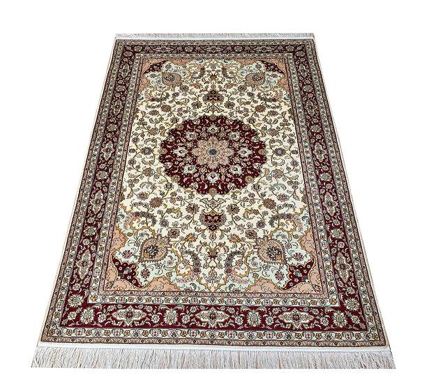 4033 Turkistan Qom %100 Silk 4x6