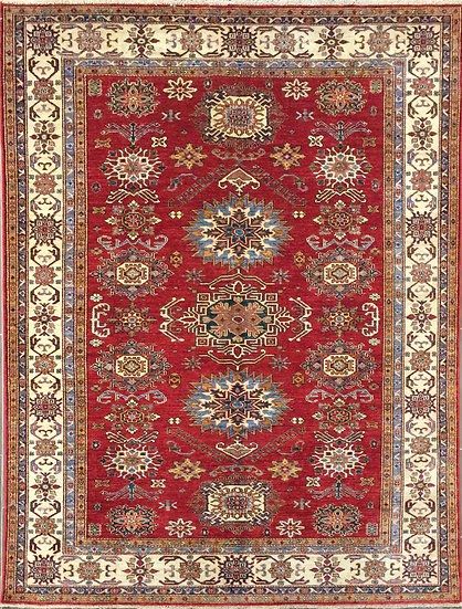 6128 Afghan Kazak 6.7x9.9
