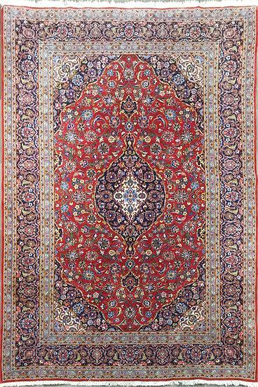 8A381 Persian Kashan 8.1x11.7