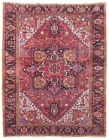 9262 Persian Heriz 9.2x11.2
