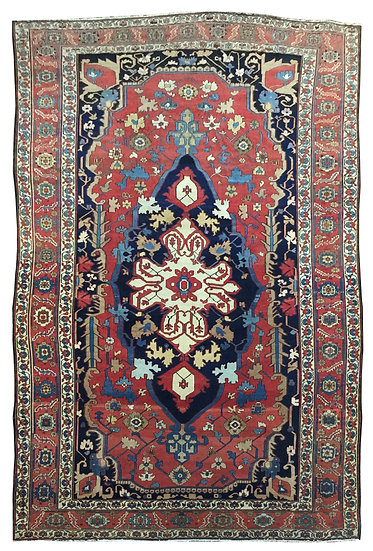 10A0294 Persian Serapi 9.2x14.6