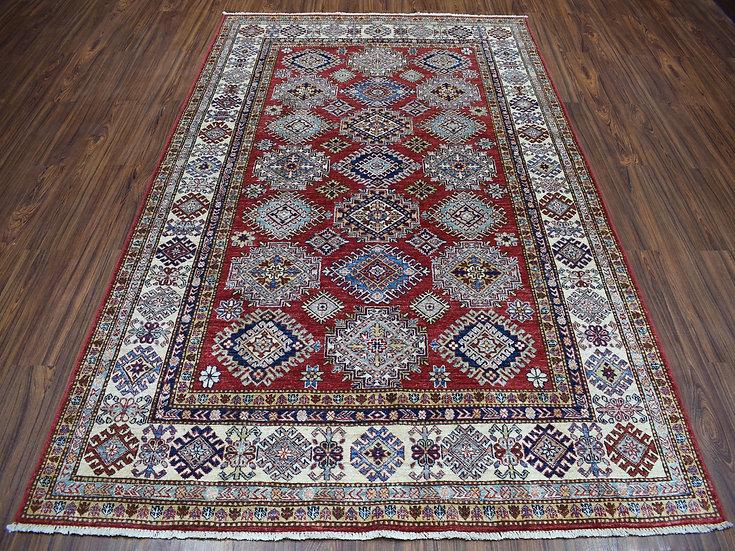 6A0143 Afghan Kazak 5.10x8.8