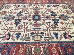 9A0442 Afghan Serapi 9x11.10   (8)