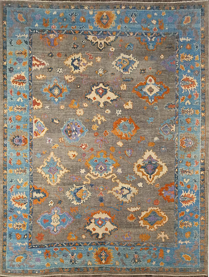 10A0157 Turkish Oushak 10.4x13.4