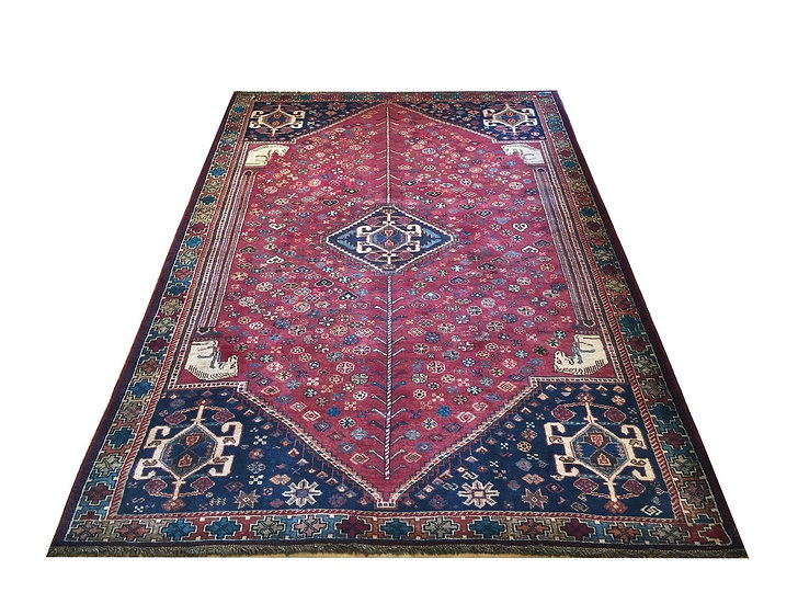 5A0001 Persian Shiraz 5.1x7.8