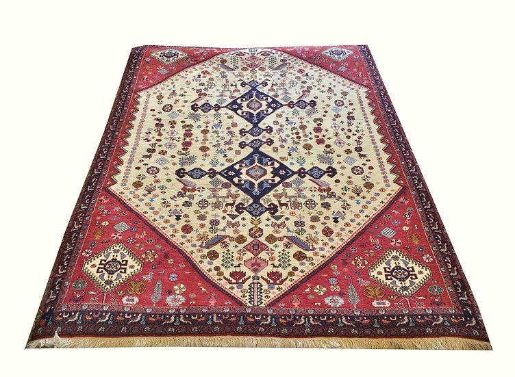 5A0048 Persian Qashgai Kashkoli 5x6.9