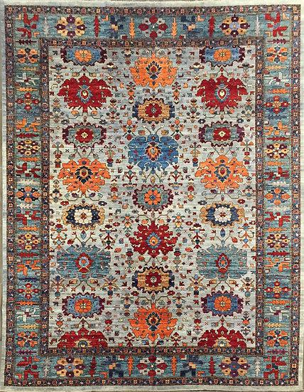 10A0258 Afghan Bijar 9.8x13.4