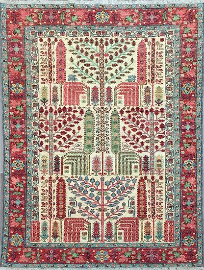 5A0202 Afghan Bakshaish 5x7