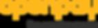 Openpay_Single Line Logo + Strapline_Por