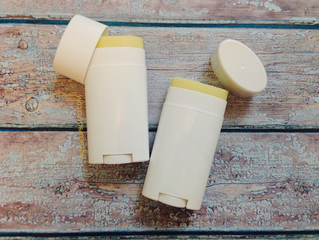 DIY All-Natural Deodorant Stick Class: Monday, September 14th, 10 am - 11 am