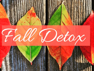 Interested in how to do a real FALL DETOX? October 20, 2 pm - 3 pm