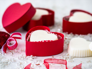 DIY Heart Shaped Lotion Bar Making Class:  Monday, February 10th, 11 am - Noon