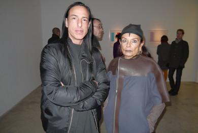 Michèle Lamy ve Rick Owens