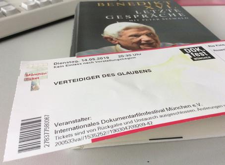 Wenn bei Traunstein die rote Sonne ...-  Mit Joseph Ratzinger im Kino