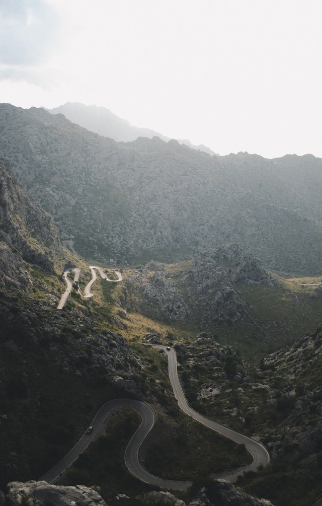 Sa Calobra road bike climb