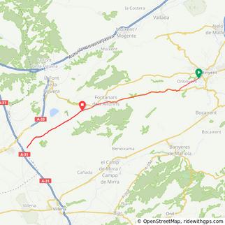 Kona Speed Camp 40k tt route