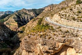Road to El Salt Jijona