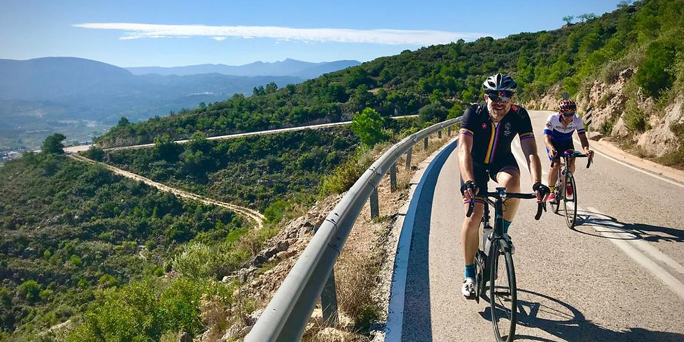 Neil Mackley Group Cycling Escape 28th March - 4th April