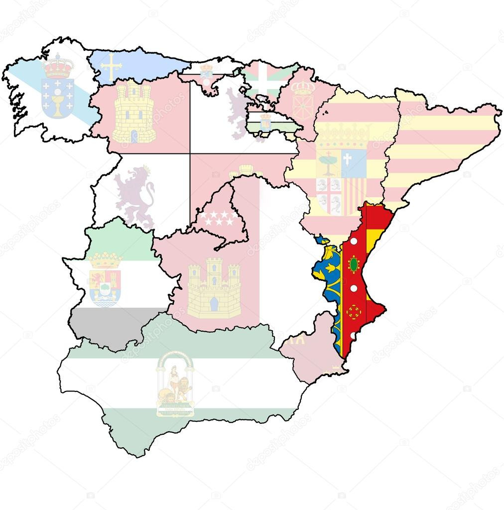 Regions of Spain
