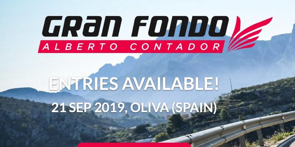 Gran Fondo Alberto Contador Trip: 19-23/26 Sept.