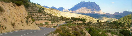 Port de Tudons Coll de Rates luxury cycle retreat holiday training camp in denia calpe mallorca spain with bike hire