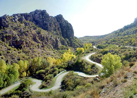 mountain road luxury cycle retreat holiday training camp in denia calpe mallorca spain with bike hire