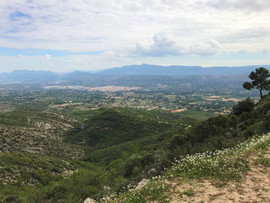 View of Ontinyent from Sant Esteve