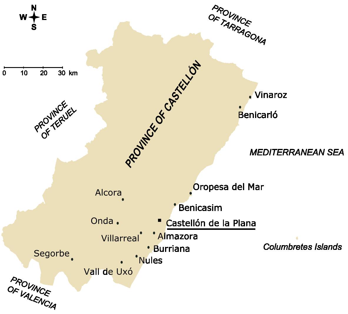 Province of Castellon